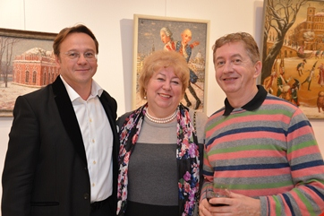 Exhibition of Russian Brueghel's followers together with ALLRUS Gallery in the RKI in Vienna, November 2012