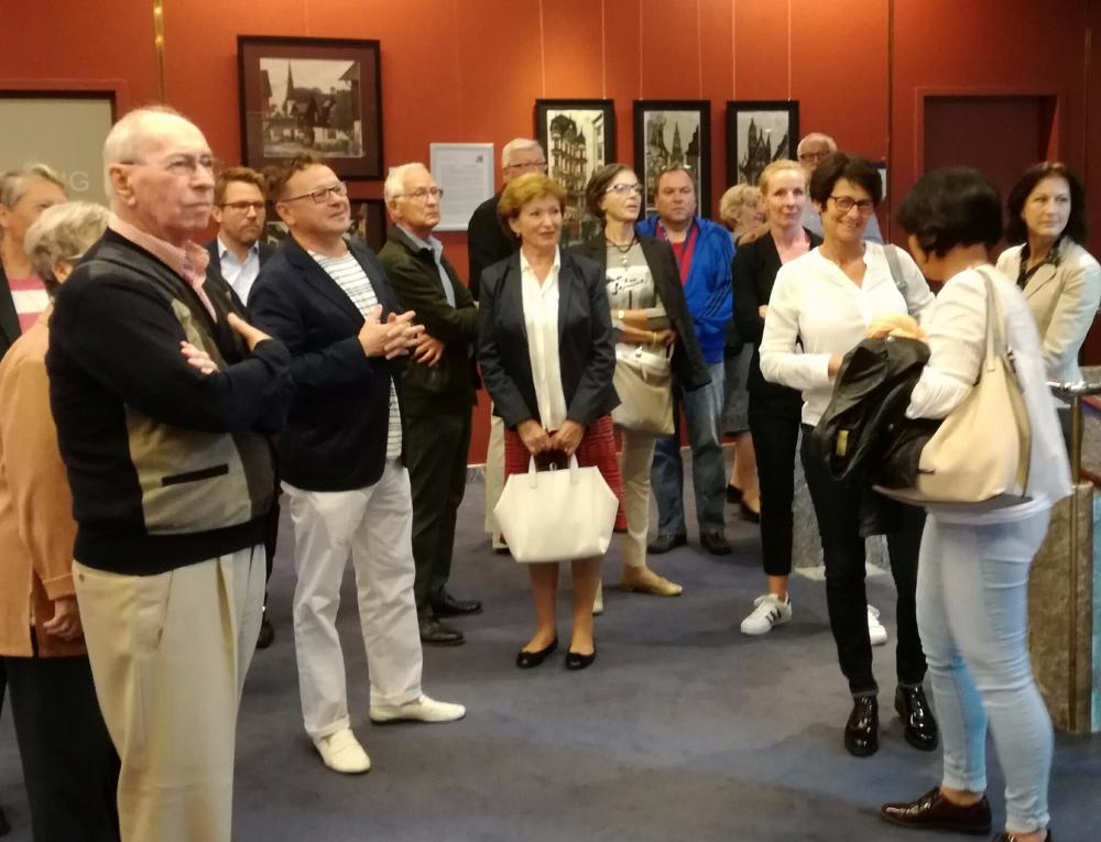 "The exhibition ""Austria through the eyes of modern Russian artists"" raised big interest and attracted a lot of visitors."